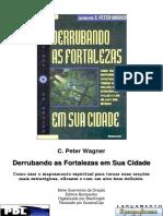 Derrubando as fortalezas em sua cidade - C. Peter Wagner