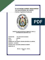 DISEÑO DE UNA ESTRATEGIA COMERCIAL PARA LA ''DISTRIBUIDORA MONTERO S.R.L''