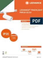 Ledvance Tracklight Par 16 Gu10 Latam