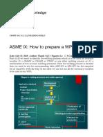 ASME IX_ How to Prepare a WPS! – Shipbuilding Knowledge