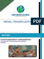 High Beam Global - Renal Transplantation