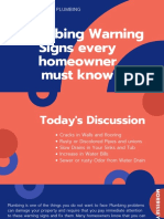 5 Plumbing Warning Signs Every Homeowner Must Know