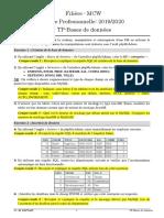 Compte Rendu de TP BD Copie2