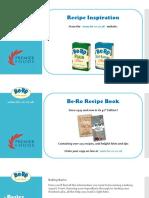 Be-Ro Website Recipes
