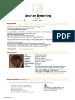STEPHAN BENEKING - Prelude Fantaisie nº 7