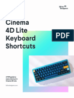 Cinema 4D Shortcuts