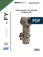 Posicionador de Valvulas rede PA