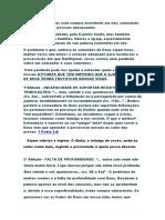 Introdução A PALAVRA DE DEUS