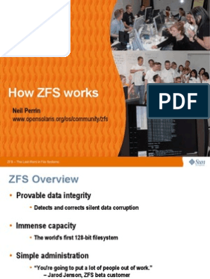 How Zfs Works | File System | Utility Software