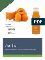 Apri Sip - OPM - Final Report PDF