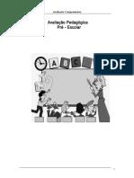 Avaliação pedagógica _fichas