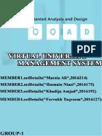 Virtual University Management System