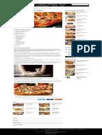 Pizza de Casă Cu Blat Pufos - Rețetă Rapidă de Pizza