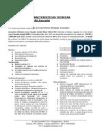 Caracteristica - Excavadora Robex Hyundai 3 - 2017