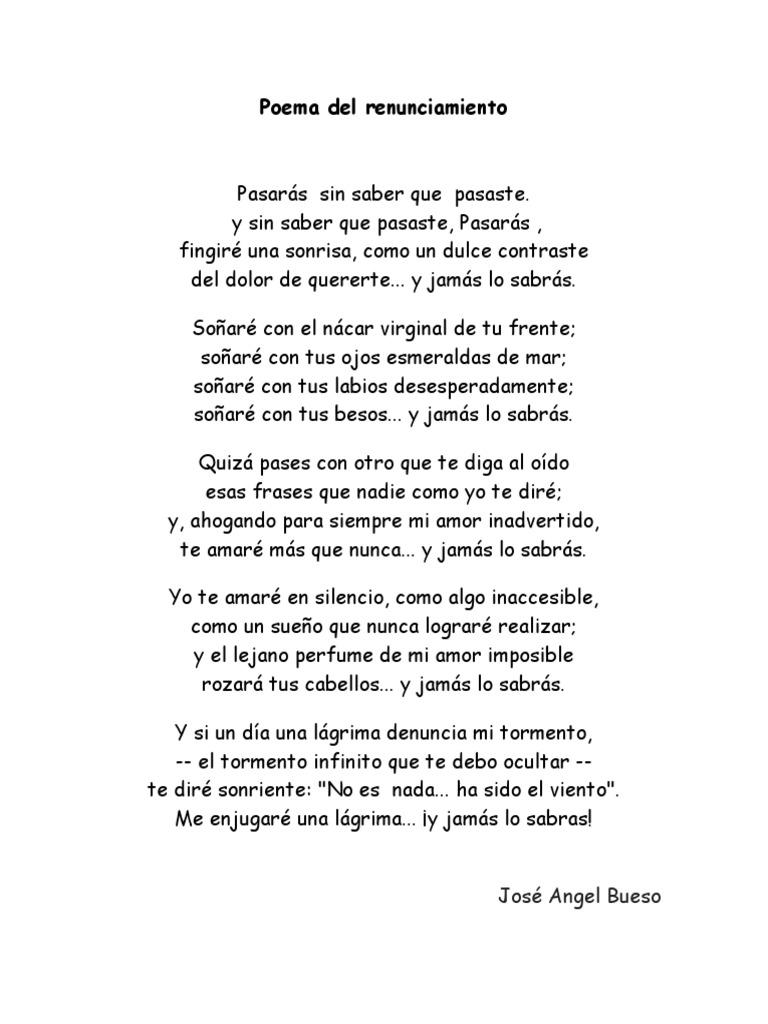 Poema Amor Imposible