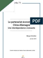 Partenariat économique Chine Allemagne