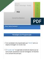 IFPB - POO - 2 - Conceitos Básicos