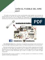 ¿PORQUE SE DAÑA EL FUSIBLE DEL AIRE ACONDICIONADO_ – Friolandia