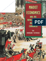 Maoist Economics Shanghai Textbook Raymond Lotta