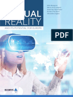 VIRTUAL REALITY AND ITS POTENTIAL FOR EUROPE