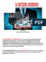 Chapter 8 Institutional Invetsors Governance Organizations and Legal Initiatives Ppt Pptx