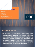 Technical Study of a  Feasibility Study