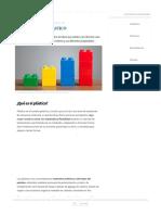 Plástico_ Concepto, Historia, Usos y Propiedades