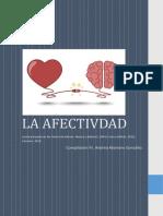 PSICOLOGIA LA AFECTIVIDAD