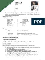 how ro make CV