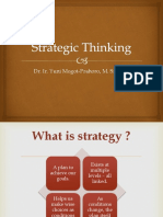 1. Strategic Thinking