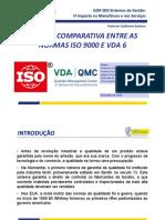 Análise Comparativa entre as Normas ISO 9000 e VDA 6 - Apresentação