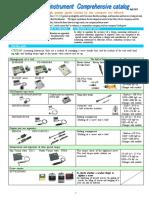 CEDAR English Catalog