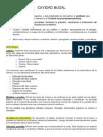 CAVIDAD-BUCAL resumen