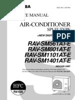 Toshiba RAV-SM561 Service manual