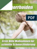 Nie Wieder Hämorrhoiden Buch PDF