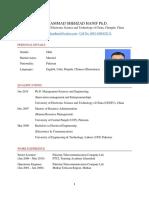 MSH Resume PhD AP International Positions