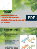 6. Steroid Hormones (Metabolism and Mechnism of Action)