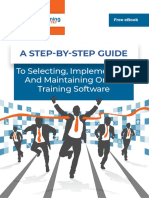 ELearning Industry a Step by Step Guide to Selecting Implementing and Maintaining Online Training Software