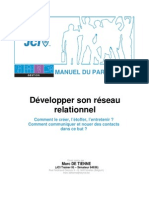 DevelopperSonReseauRelationnel Manual FRE