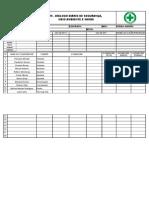 Modelo de Formulario de DDS.Xls