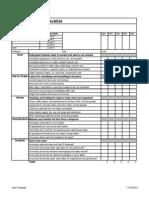 5S Workplace Scan Checklist