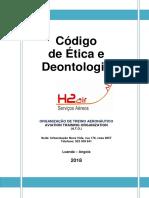 Código de Ética e Deontologia Profissional H2.Air