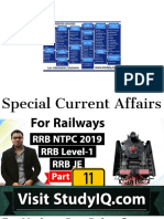 RRB NTPC Current affairs 2019