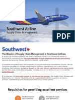 SW Airlines Supply Chain