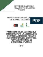 Plan de Mitigación Ambiental Vrigen de Rosario