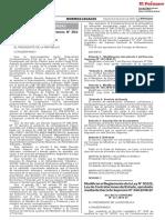 DECRETO SUPREMO N° 376-2019-EF
