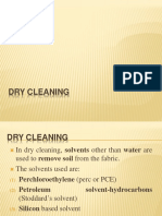 11 Dry cleaning