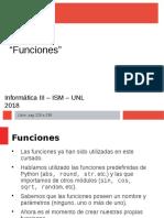Unidad 2 - Funciones