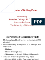 Lecture 1 - Fundamentals of drilling fluids