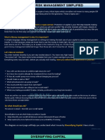 Money & Risk Management